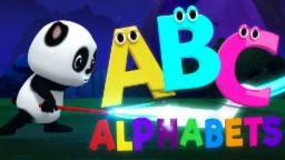 Learn ABC | Alphabets With Baby Bao Panda | ABC Song For Kids And Childrens