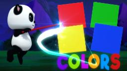 Learn Colors | Baby Bao Panda | Kids Rhymes | Color Song For Childrens