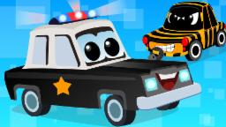 Zeek And Friends |Police Car Song | vehicle songs | Nursery Rhymes