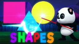 Learn Shapes With Baby Bao Panda | Shapes Song For Kids | Nursery Rhymes For Childrens