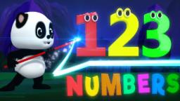 Baby Bao Panda | Lets Learn Numbers | Kung Fu Numbers | Numbers Song | Videos For Children