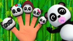 Finger Family Baby Bao Pandas | Nursery Rhymes For Kids And Childrens