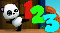 Lets Learn Numbers | Numbers Song | Baby Bao Panda