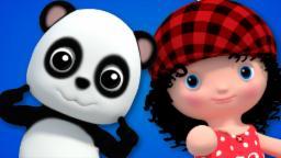 Chubby Cheeks | Baby Bao Panda Nursery Rhymes For Kids And Childrens Songs