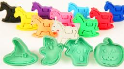 Halloween Special | Learn Colors With Play doh |  Halloween Molds For Kids | Colors For Kids