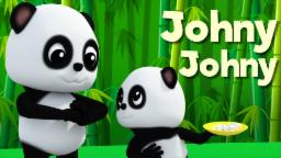 Johny Johny Yes Papa | Baby Bao Panda Baby Songs | Nursery Rhymes For Kids