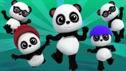 Five Little Pandas From Baby Bao Panda | Nursery Rhymes For Kids And Childrens | Baby Songs