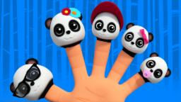 Baby Bao Panda Finger Family | Baby Songs For Childrens And Kids