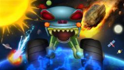 Haunted House Monster Truck | space adventures | monster trucks for kids | episode 41