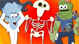 Head Shoulder Knees And Toes | Scary Nursery Rhymes | Baby Songs