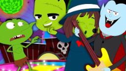 Monster Party | Halloween Songs For Kids | Children Videos