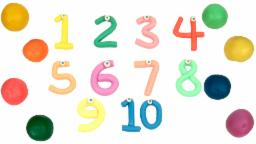 Learn 1 To 10 Numbers With Play doh   Learn Numbers   Play Doh Video   1 to 10   Learn To Count