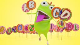 Mad Beans Alphabet Song | ABC Song For Kids