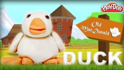 Play Doh Duck | Old Mac Donald Had A Farm | Learn Animals Sound | Nursery Rhymes | Old MacDonald