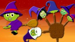 Finger Family | Halloween Witches Finger Family Song