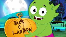 Jack O'Lantern |Scary Nursery Rhymes For Kids | Halloween Song