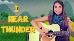 I Hear Thunder   Nursery Rhymes For Kids And Children's