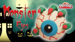 Play Doh Halloween Special Monster Eye | Monster Eye | How To Make A Monster Eye