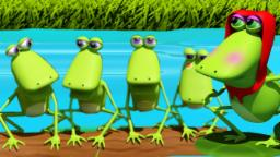 Five little frogs | Kids videos | nursery rhymes for children and babies