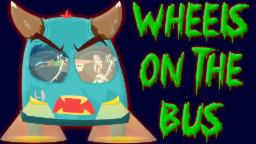 Wheels on the Bus | Halloween Song | Rhyme