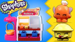 Shopkins Bakery PlaySet | Surprise Shopping Baskets | Surprise Characters || Toy Unboxing | Shopkins