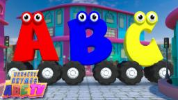 Alphabets On Wheels | ABC song | Learn Alphabets | Alphabet Nursery Rhyme