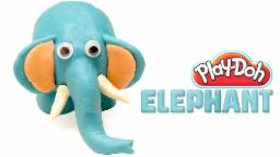 Play Doh Elephant | Peppa Pig Elephant | Play Doh Animal | Learn Play Doh
