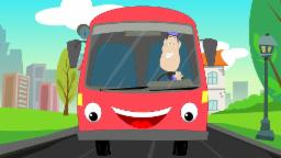 Wheels On The Bus | Nursery Rhymes | kids songs | rhymes