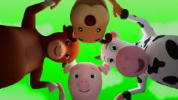 Ringa ringa roses | 3D Nursery rhymes for kids | Children's Song