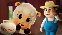 Johny Johny Yes Papa | 3D Nursery Rhymes For Kids | Farmees