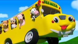Wheels On The Bus | Nursery Rhymes For Toddlers | Preschool