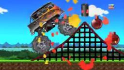 monster trucks | stunts games for children | street vehicles