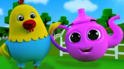 I'm a Little Teapot | Nursery Rhymes For Kids | 3D Rhymes