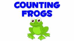 Frogs Numbers | Learn numbers from 1 to 9
