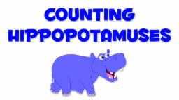 Hippopotamuses Numbers | Learn numbers from 1 to 4