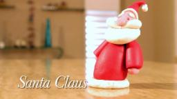 Play Doh Santa Claus