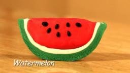 Play Doh Watermelon
