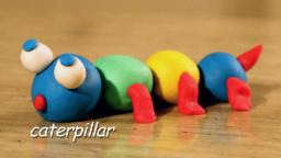 Play Doh Caterpillar