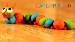 Play Doh Caterpillar | Play Doh Insects