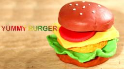 Play Doh Burger | Paly Doh Fast Food