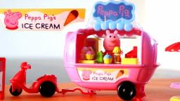 Peppa Pig | Peppa Pig's Theme Park Ice Cream Van | New Peppa Pig Toys Collection