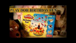 Play Doh Birthday Fun | Unpacking Birthday Fun