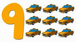 Taxis Numbers | Learn numbers from 1 to 9 | Number Song