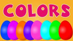 Surprise eggs | learn colors | color songs for kids