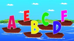 Learn Alphabets | Abc Song |Video for kids | Cartoon Boat | Teach childrens ABC
