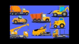 Construction Vehicles | Videos For KIds | kids car cartoons