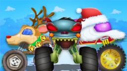 Haunted House Monster Truck - Haunted House Monster Truck VS. Santa | Episode 9 | Christmas Special