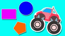 Monster Truck Shapes | Shapes For Kids