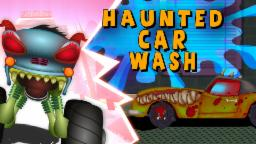 Haunted House Monster Truck - Scary Car Wash | Haunted House Monster Truck | Halloween | Episode 5