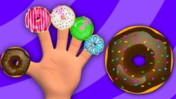 Donuts Finger Family Finger Family Song Nursery Rhymes Song For Children